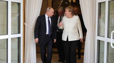 Τι θα συζητήσουν Μέρκελ – Πούτιν στη συνάντηση του Σαββάτου