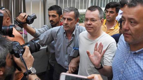Τουρκία: Απορρίφθηκε το αίτημα του Αμερικανού πάστορα να αφεθεί ελεύθερος