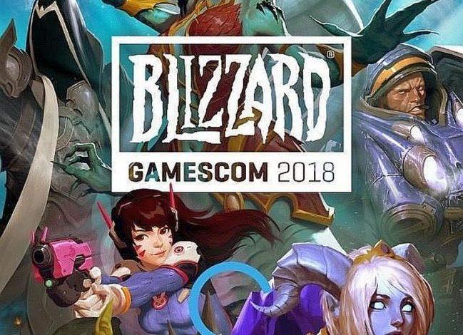 Gamescom 2018: Ανακοινώθηκε το πρόγραμμα της Blizzard