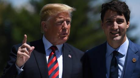 «Οι Καναδοί είναι σκληροί διαπραγματευτές» απαντά ο Τριντό στον Τραμπ