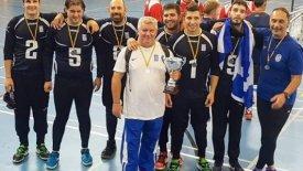 Ασημένιο μετάλλιο για το γκόλμπολ των ανδρών στη Μαδρίτη