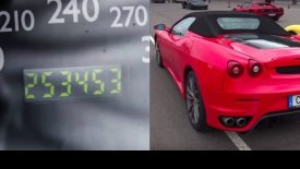 Αυτή η Ferrari F430 έχει διανύσει περισσότερα από 250.000 χλμ! (vid)