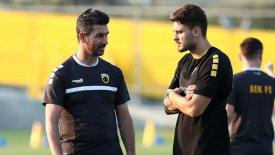Αϊντάρεβιτς: «Δεν θα φύγω τον Ιανουάριο από την ΑΕΚ αν δεν έχω κάτι καλό»