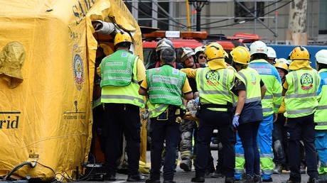 Ισπανία: Ένας νεκρός από κατάρρευση σκαλωσιάς σε ξενοδοχείο (pics)