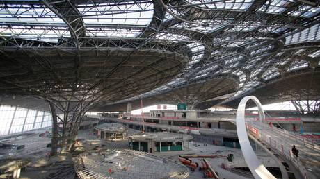 Κίνα: Το νέο φουτουριστικό αεροδρόμιο του Πεκίνου (pics)