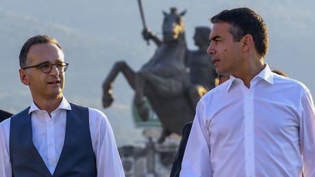 Μάας από Σκόπια: πΓΔΜ και Ελλάδα κάνατε ένα ιστορικό βήμα μετά από 25 χρόνια