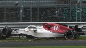 Οι καλύτερες στιγμές των δοκιμαστικών της Formula 1 (vids)