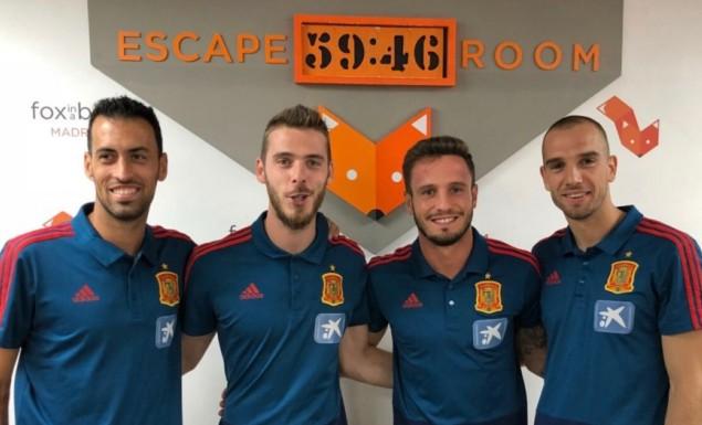 Ο Λουίς Ενρίκε πήγε τους διεθνείς σε…escape room!