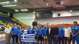 Σάρωσαν τα μετάλλια οι Ελληνες παλαιστές στο  Βαλκανικό
