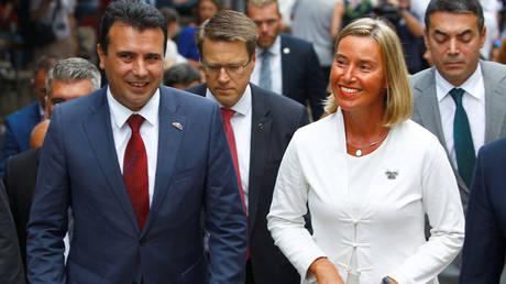 Στήριξη της Μογκερίνι στη συμφωνία των Πρεσπών και το δημοψήφισμα της πΓΔΜ