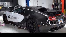 21.000 δολάρια η αλλαγή λαδιών σε μία Bugatti Veyron (vid)