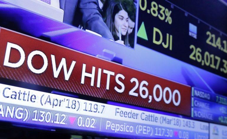 Κατοχύρωσε τις 26.000 μονάδες ο Dow Jones