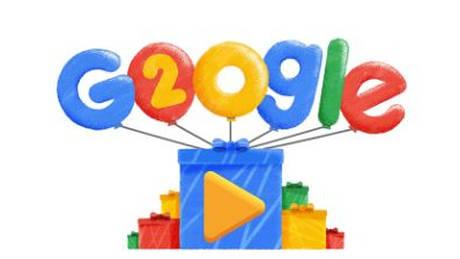 H Google γιορτάζει τα 20α γενέθλιά της με ένα Doodle
