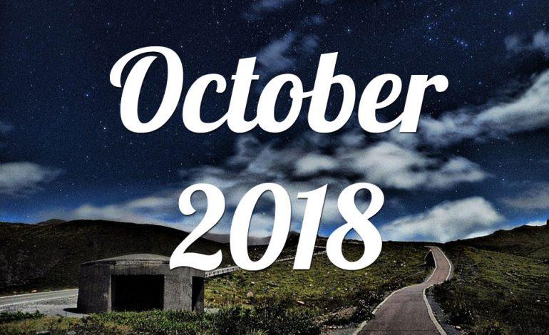 Οκτώβριος 2018 Μηνιαίες προβλέψεις για όλα τα ζώδια