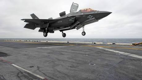 Καθηλώνονται εκτάκτως τα μαχητικά F-35 με εντολή του Πενταγώνου