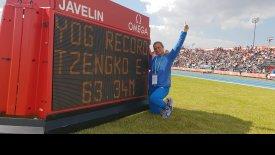 Καταπληκτική η Τζένγκο δεν χάνει το χρυσό στους Ολυμπιακούς Νέων