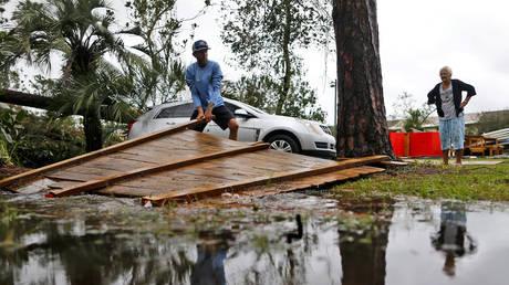 Κυκλώνας Μάικλ: Ένας νεκρός και εικόνες καταστροφής στη Φλόριντα