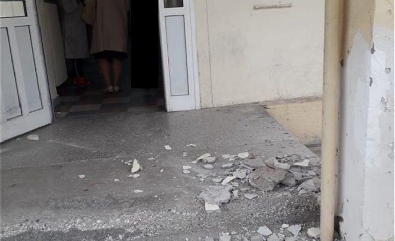 Νοσοκομείο Κιλκίς. Τραυματισμός ασκούμενης βοηθού από πτώση σοβάδων