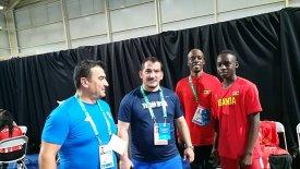 Ο Πύρρος Δήμας κόουτς ενός 16χρονου αθλητή από την Ουγκάντα! (pics)
