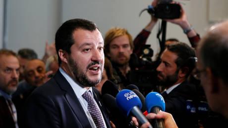 Σαλβίνι: Η Ευρώπη με «στηρίζει» ολοένα και περισσότερο στο μεταναστευτικό