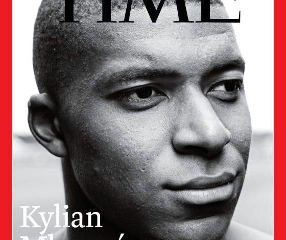 Στο εξώφυλλο του TIME ο Εμπαπέ