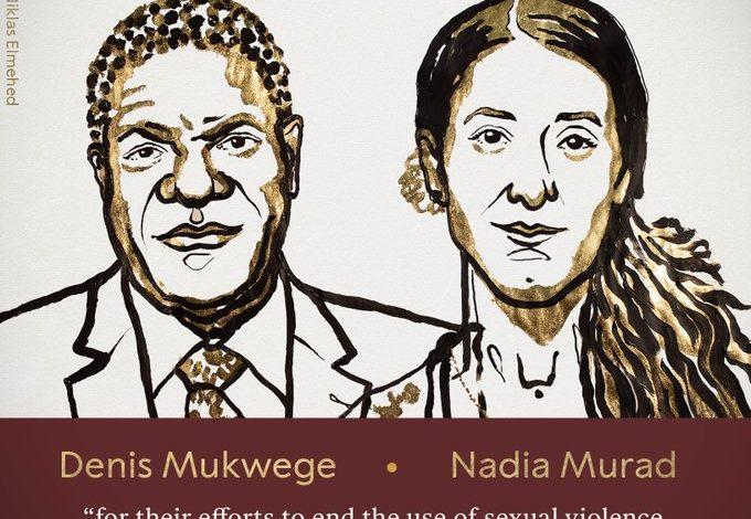 Νόμπελ Ειρήνης. Το πήραν ο γυναικολόγος Ντένις Μουκουέγκε και η Γιεζίντι Νάντια Μουράντ