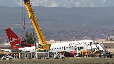 Βολιβία: Αεροπλάνο προσέκρουσε στο έδαφος κατά την προσγείωση (pics)