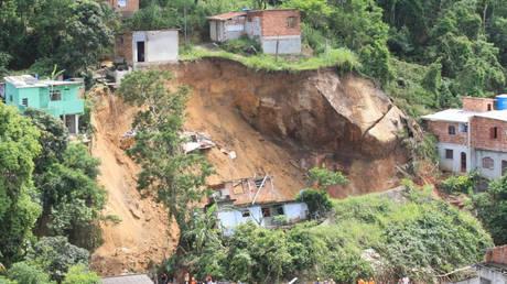 Βραζιλία: Φονική κατολίσθηση κοντά στο Ρίο ντε Τζανέιρο (pics)