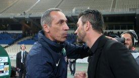 Δώνης: «Εξαιρετικός ο Ουζουνίδης, πολύ καλή ομάδα η ΑΕΚ»