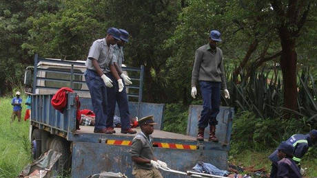 Ζιμπάμπουε: Τουλάχιστον 47 νεκροί μετά από σύγκρουση λεωφορείων