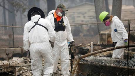 Καλιφόρνια: Αγωνία για τους 630 αγνοούμενους μετά τις πυρκαγιές