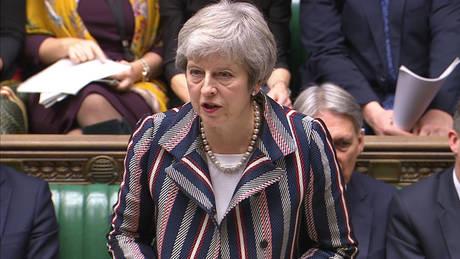 Μέι: Η Βρετανία θα οδηγηθεί στο άγνωστο εάν απορριφθεί η συμφωνία για το Brexit