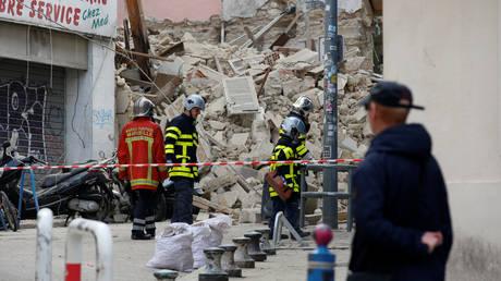 Μασσαλία: Τρεις νεκροί από την κατάρρευση των δύο κτηρίων (pics&vids)