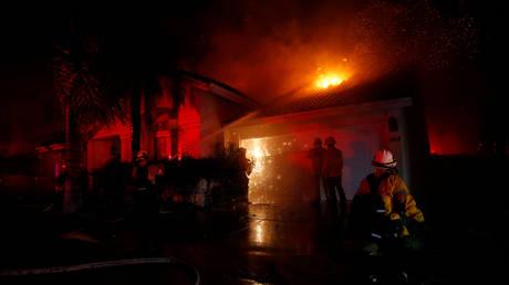Νεκροί και τραυματίες από τις πυρκαγιές στην Καλιφόρνια (pics&vid)