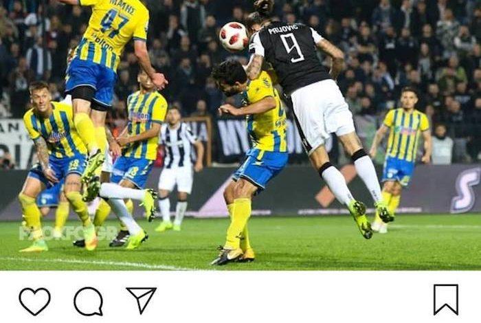"""Πρίγιοβιτς: """"Το γκολ είναι δικό μου"""" (pic)"""