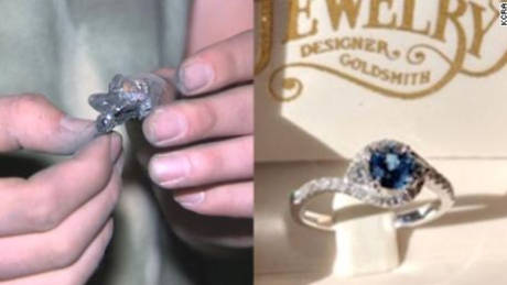 Φωτιά Καλιφόρνια: Βρήκε το δαχτυλίδι αρραβώνων στις στάχτες του σπιτιού του