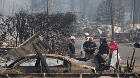 Φωτιές Καλιφόρνια: Αυξάνονται οι νεκροί-Δραματική η εικόνα της καταστροφής από το διάστημα