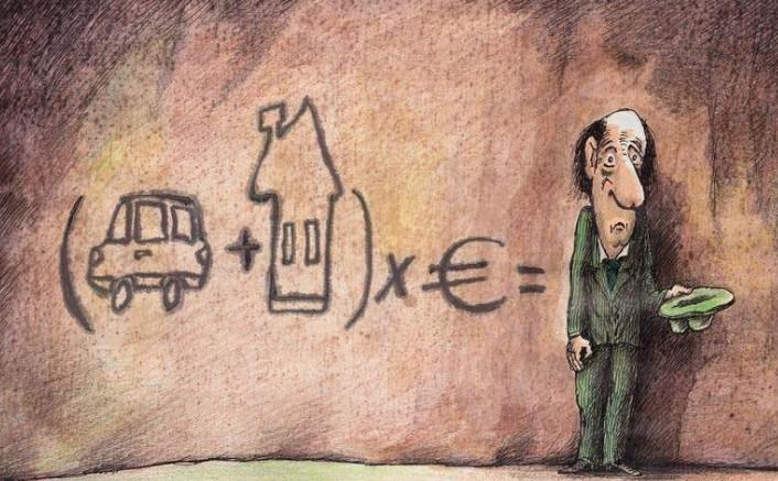Έως 3.000 ευρώ χρωστούν 2,3 εκατ. φορολογούμενοι – το δράμα της μεσαίας τάξης
