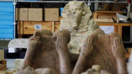 Στα «άδυτα» του εντυπωσιακού νέου μουσείου του Καΐρου (pics&vids)