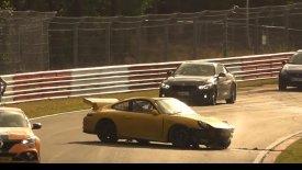 Porsche 911 GT3 τρακάρει με 246 χλμ./ώρα στο Νίρμπουργκρινγκ (vid)