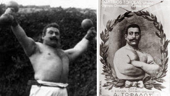 Δημήτριος Τόφαλος: Ο αθλητής συνώνυμο του εύσωμου ανθρώπου. Γράφει ο Κωνσταντίνος Λινάρδος