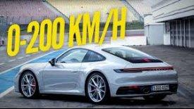 Η νέα Porsche 911 Carrera S πιάνει τα 200 χλμ./ώρα σε 10 δευτερόλεπτα! (vid)