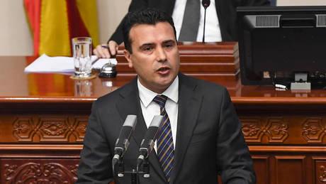 Συμφωνία των Πρεσπών: Πέρασε από τη Βουλή της πΓΔΜ – Το «μπαλάκι» στην Ελλάδα