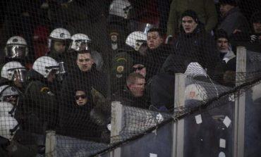Επεισόδια των οπαδών της Ντιναμό Κιέβου με την αστυνομία