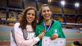Η Κατερίνα …. γιόρτασε με την Γεωργία το μετάλλιο της στο ΣΕΦ