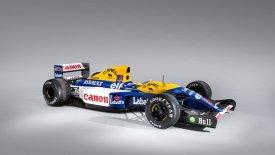 Προς πώληση η συλλεκτική Williams FW14B του Νάιτζελ Μάνσελ! (pics)