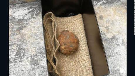 Χειροβομβίδα του Α' Παγκοσμίου Πολέμου σε φορτίο με… πατάτες!