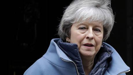 Brexit: Περισσότερο χρόνο για διαπραγματεύσεις ζητά η Μέι