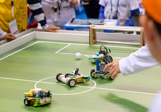 Ρομποτικό ποδόσφαιρο από τους μαθητές του 3ου Δημοτικού Κηφισιάς