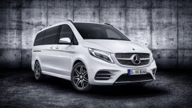 H Mercedes ανανεώνει την πολυτελή V-Class (pics)